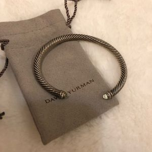 Authentic David Yurman Cable Bracelet